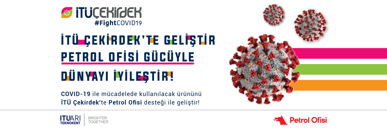 İTÜ ARI Teknokent ve Petrol Ofisi'nden Türkiye'nin Koronavirüs ile Mücadelesinde Güçler Birliği