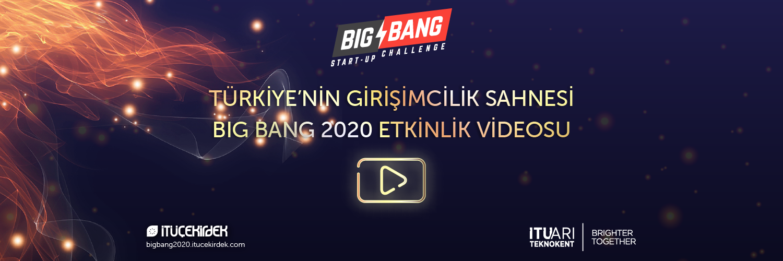 Big Bang Start-up Challenge 2020 Etkinlik Videosu