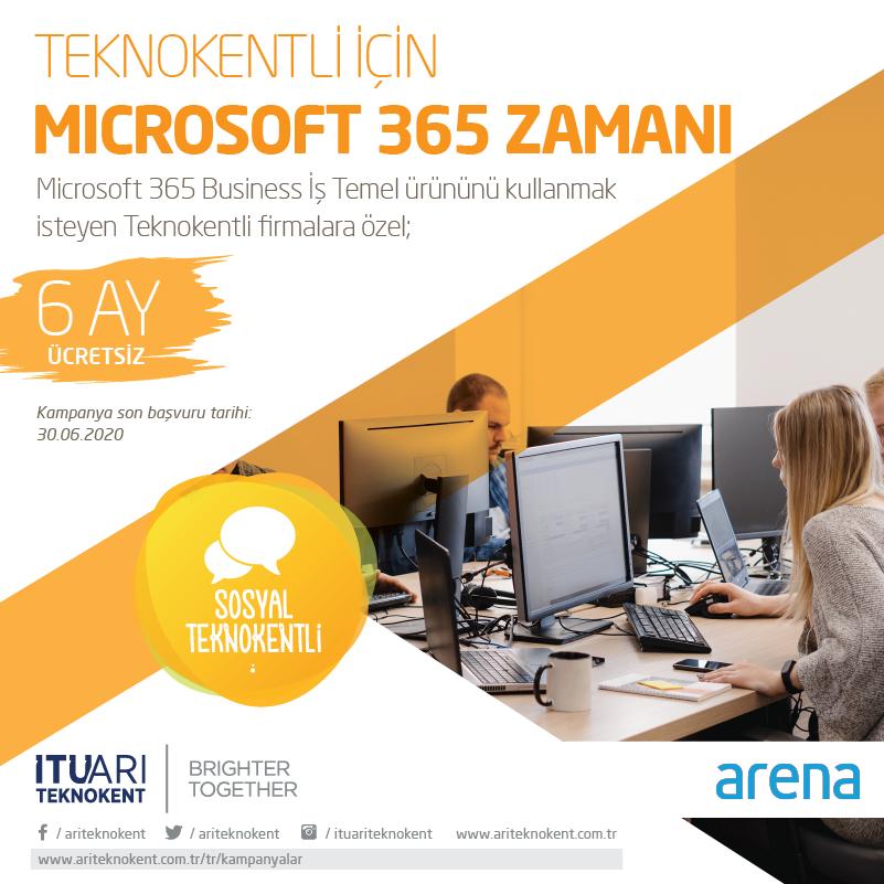 Teknokentli için Microsoft 365 Zamanı