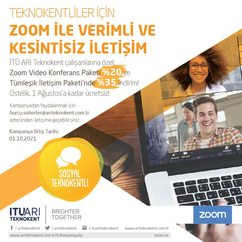 Teknokentliler için Zoom ile Verimli ve Kesintisiz İletişim