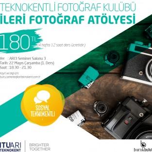 Teknokentli Fotoğraf Kulübü İleri Fotoğraf Atölyesi