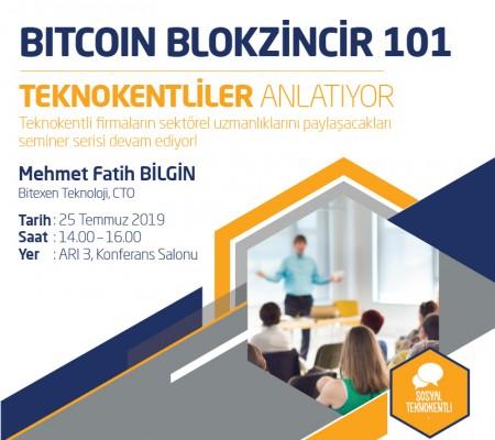Bitcoin Blokzincir 101