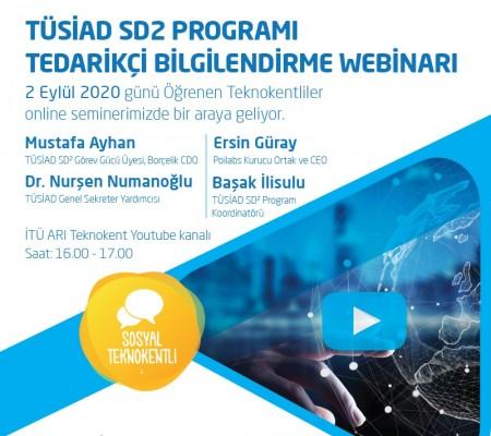 TÜSİAD SD2 PROGRAMI TEDARİKÇİ BİLGİLENDİRME WEBİNARI