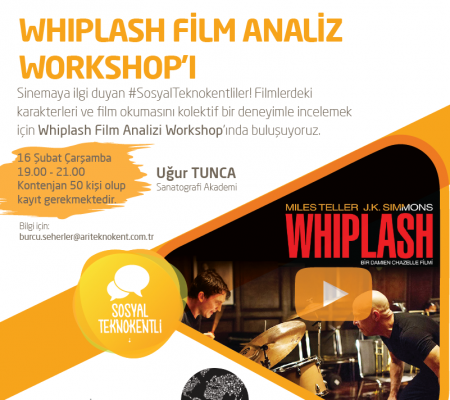 Whiplash Film Analiz Workshop'ı