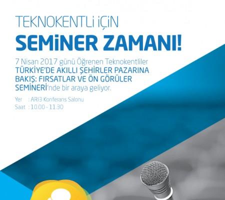 Türkiye'de Akıllı Şehirler Pazarına Bakış: Fırsatlar ve Öngörüler