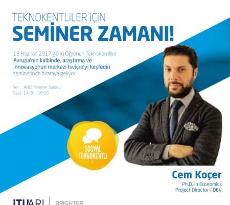 İTÜ ARI Teknokent Firmaları ile İsviçre Vaud Kantonu Ekonomi Dairesi Buluşuyor