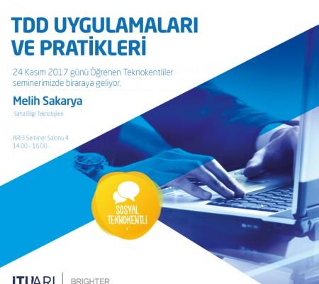 TDD Uygulamaları ve Pratikleri