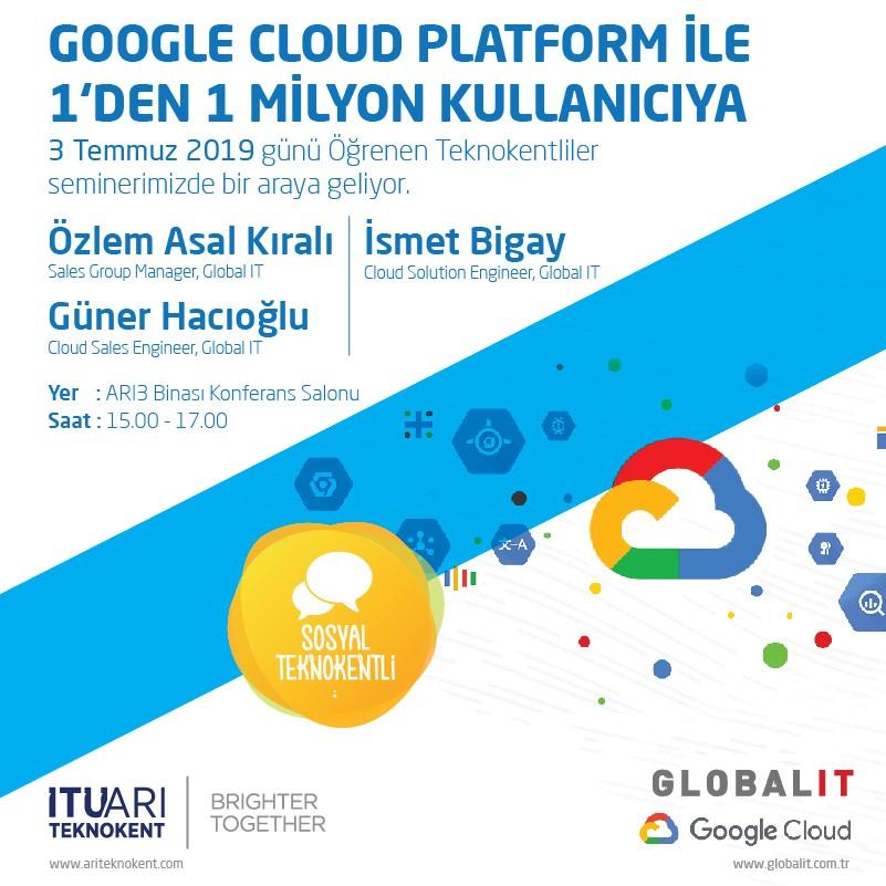 Google Cloud Platform ile 1 kullanıcıdan 1 milyon kullanıcıya
