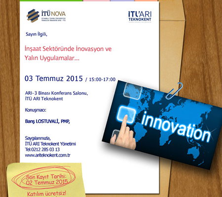 Innovation and Lean Applications in the Construction Industry