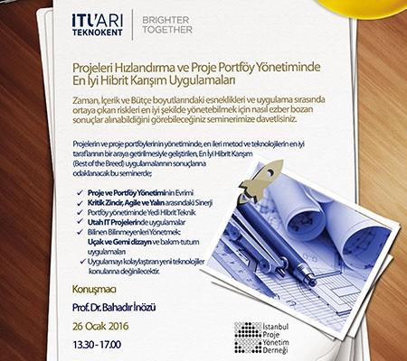 Projeleri Hızlandırmak ve Proje Portföy yönetiminde En İyi Hibrit Karışım Uygulamaları