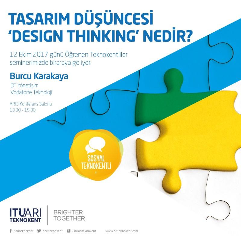 """Tasarım Düşüncesi  """"Design Thinking"""" Nedir?"""
