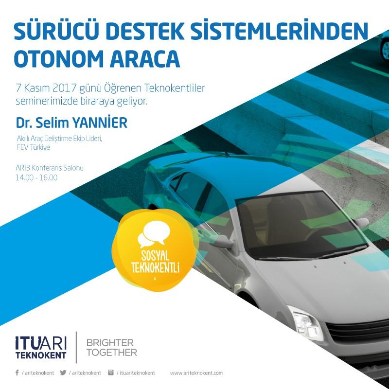 Sürücü Destek Sistemlerinden Otonom Araca