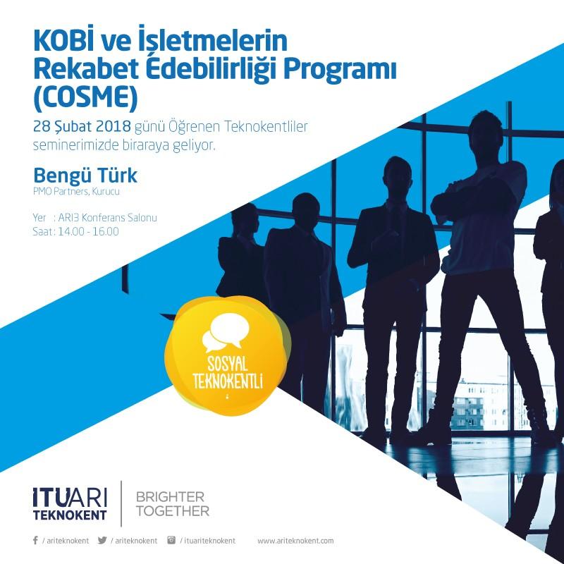 KOBİ ve İşletmelerin Rekabet Edebilirliği Programı (COSME) Bilgilendirme