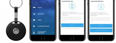 Blesh, Volkswagen İçin Selfie Çeken Akıllı Anahtarlık Geliştirdi