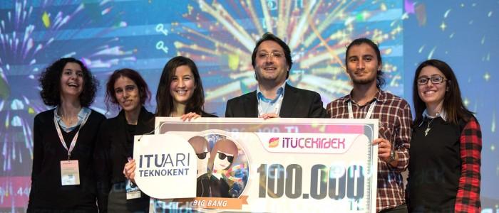 İTÜ Çekirdek'ten 260 Bin TL Ödül