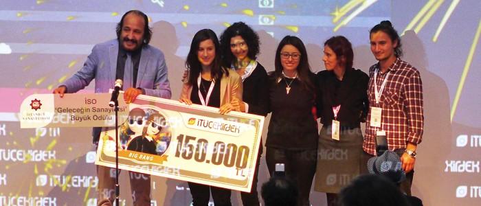 ISO Geleceğin Sanayicisi Ödülü Vivosens'e Verildi