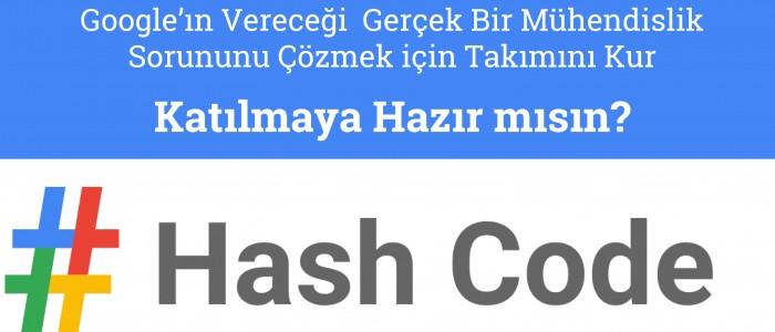 GOOGLE HASH CODE YARIŞMASI