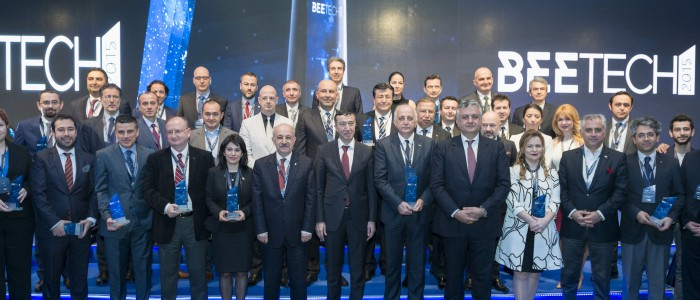 BEETECH 2015 AWARDS / İTÜ ARI TEKNOKENT ÇITAYI YÜKSELTİYOR