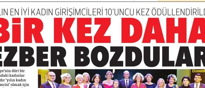 Türkiye'nin Gelecek Vaat Eden Kadın Girişimcisi İTÜ ARI Teknokent'ten...