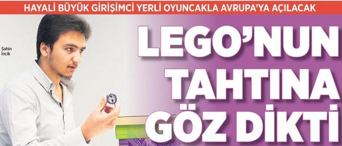 Lego'nun Tahtına Göz Dikti!