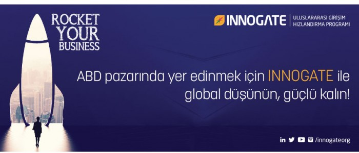 INNOGATE'DEN GLOBALLEŞME YOLUNDAKİ TEKNOLOJİ FİRMALARINA 250 BİN DOLAR YATIRIM