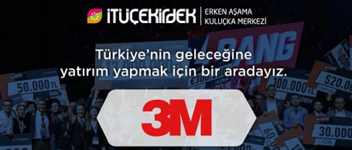 3M'DEN İTÜ ÇEKİRDEK GİRİŞİMCİLERİNE DESTEK
