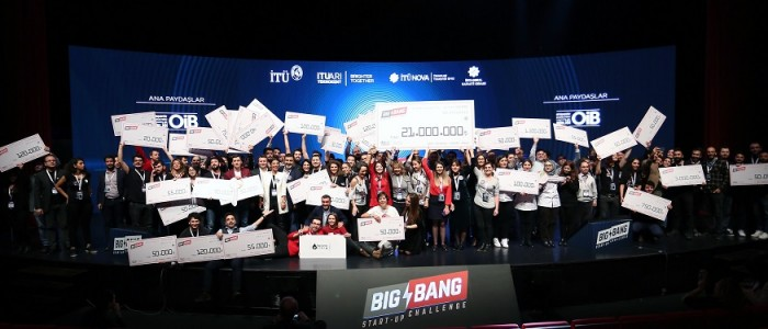 GİRİŞİMCİYE BIG BANG'DEN CANSUYU: 21 MİLYON TL