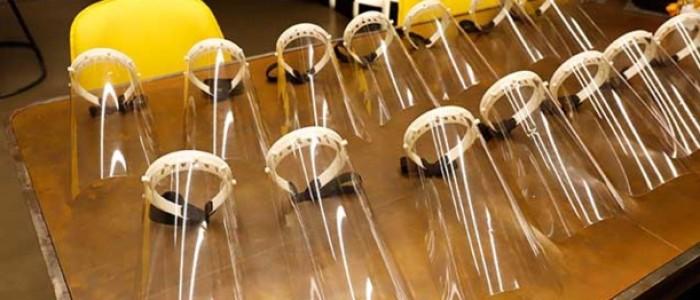 3D Koronavirüs Maskesi Ürettiler