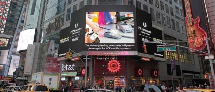 CARDTEK, New York'un Kalbinden Sizleri Selamlıyor